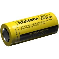 Nitecore 26650 IMR 4200 mAh 40A baterija za e-cigarete