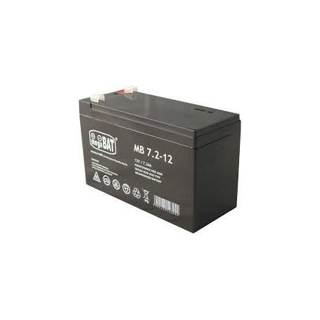 MB 7.2-12 12V 7.2Ah AGM akumulator