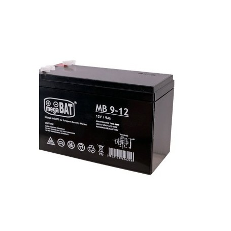 MB 9-12 12V 9Ah AGM akumulator