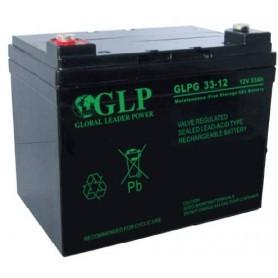 GLP 12V 33Ah GEL akumulator