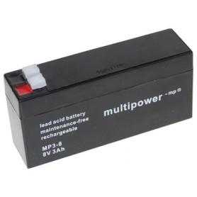 Multipower MP3-8 8V 3Ah akumulator