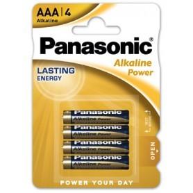 Panasonic Lr03 AAA 4-blister Alkaline Power