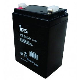 12V 2.8Ah AGM akumulator IPS 2.8-12h