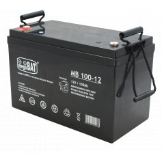 MB 100-12 12V 100Ah AGM akumulator