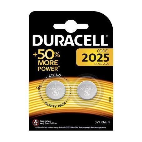Duracell CR2025 3V 126 mAh 2/blister