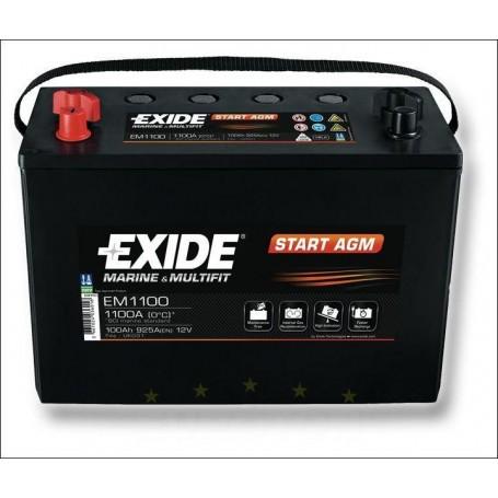 Exide 12V 100Ah 925A MARINE navtični akumulator