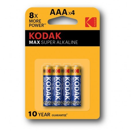 Kodak Max AAA Lr03 1.5V alkalne baterije