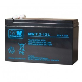 12V 7.2Ah AGM akumulator MW 7.2-12L