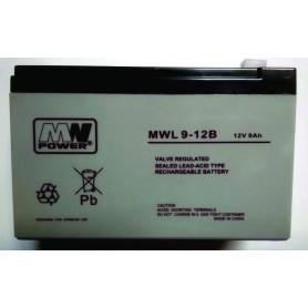 12V 9Ah AGM LONG LIFE akumulator MWL 9-12L