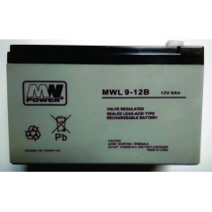 12V 9Ah AGM LONG LIFE akumulator MWL 9-12L