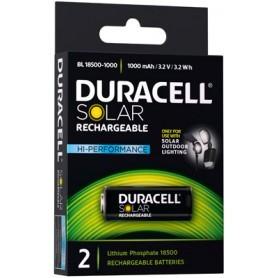 18500 3.2V LiFePo4 Duracell Solar (2 kosa)