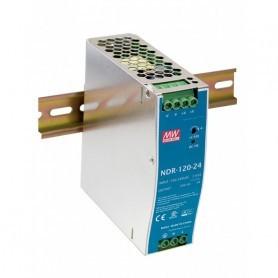 NDR-100-24 napajalnik za DIN letev