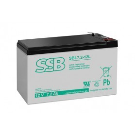 12V 7.2Ah AGM akumulator SBL 7.2-12L