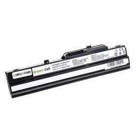 Baterija za MSI Wind U91 L2100 L2300 U210 U120 U115 U270 (črna) / 11,1V 4400mAh