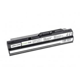 Baterija za MSI Wind U91 L2100 L2300 U210 U120 U115 U270 (black) / 11,1V 6600mAh