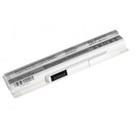 Baterija za MSI Wind U91 L2100 L2300 U210 U120 U115 U270 (bela) / 11,1V 4400mAh
