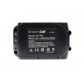 Baterija BL1830 BL1860 za Makita BDF450SFE BTL061RF BTW450RFE 6000mAh