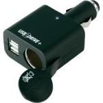 Avto USB 12V/24V polnilnik USB2DRIVE+