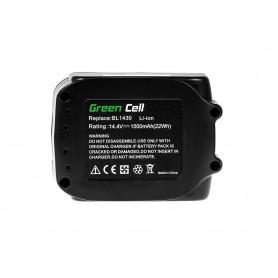 Power Tools Baterija BL1415 BL1430 BL1440 za Makita 14.4V 1500mAh