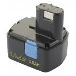 Baterija za Hitachi EB1412 EB1414 14,4V 3000mAh