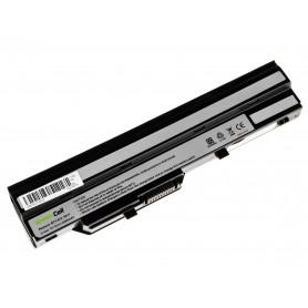 Baterija za MSI Wind U91 L2100 L2300 U210 U120 U115 U270 (black) / 11,1V 2200mAh