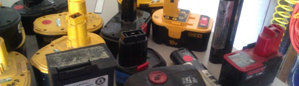 obnovljene baterije za orodja